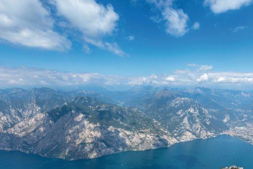 La zona del fronte verso la Valle di Ledro e Riva del Garda (ACM)